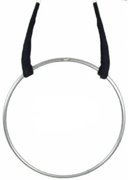 Luftring - Edelstahl, 1 oder 2 Aufhängungen, gepolstert o. ungepolstert