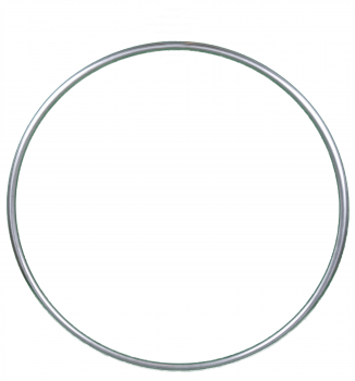 Baby Hoop / Aerial Ring / Lyra - stainless steel, without rigging points